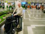 Прилетели в Бомбей. Аэропорт