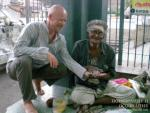 Женя и прорицатель Рам в Шива Тэмпл