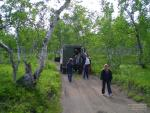 На пути в Налычево